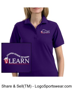 LEARN Polo (Ladies) Design Zoom