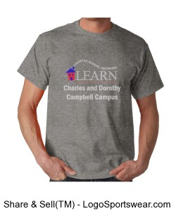 Campbell Campus Adult T-Shirt Design Zoom