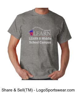 LEARN 8 Adult T-Shirt Design Zoom